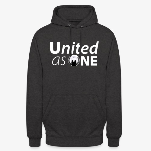 Anonymous United As One - Expect US! - Sweat-shirt à capuche unisexe