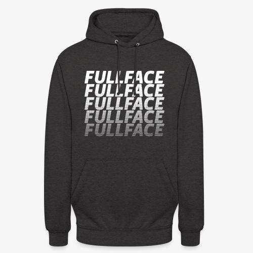 FULLFACE #1 white - Unisex Hoodie