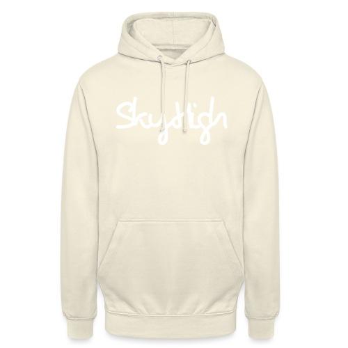 SkyHigh - Women's Hoodie - White Lettering - Unisex Hoodie
