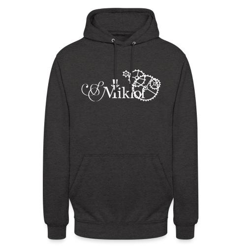 miklof logo white 3000px - Unisex Hoodie