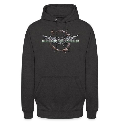 1000 für den Imperator - das Logo!! - Unisex Hoodie