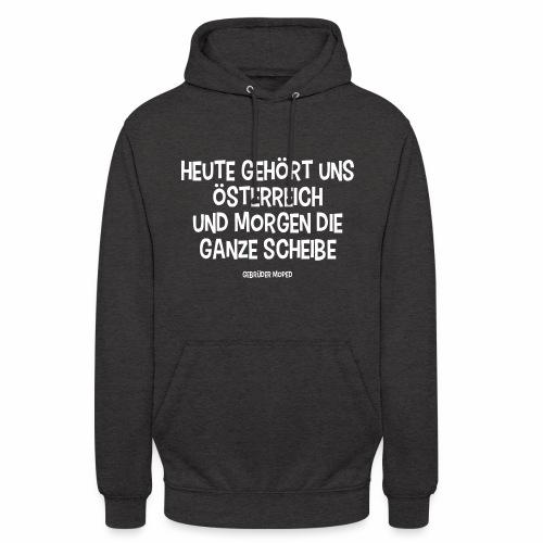 Scheibe Österreich - Unisex Hoodie