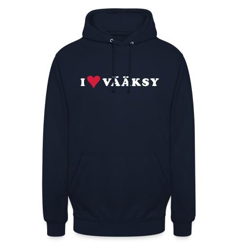 "I LOVE VAAKSY - Huppari ""unisex"""