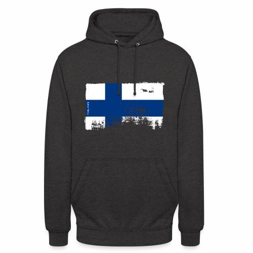 "Suomen lippu, Finnish flag T-shirts 151 Products - Huppari ""unisex"""