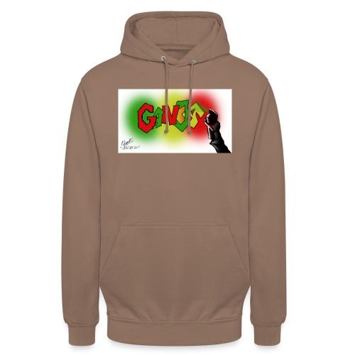 Ganja - Hættetrøje unisex