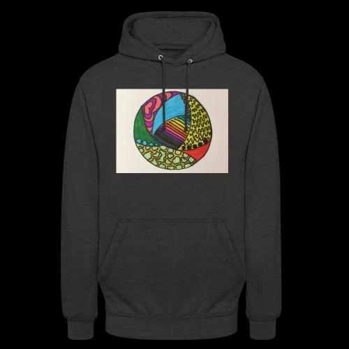 circle corlor - Hættetrøje unisex