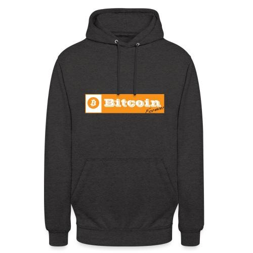 Bitcoin blanc - Sweat-shirt à capuche unisexe