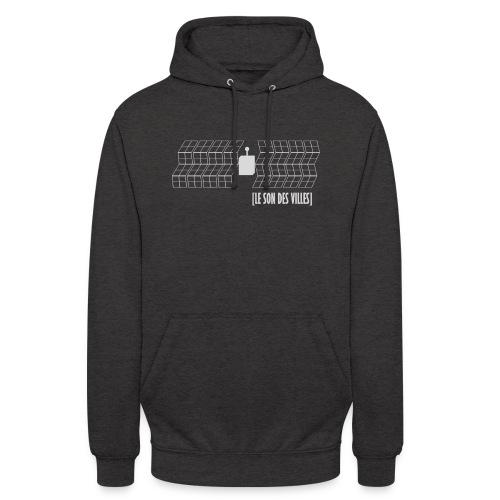 Satellite by lesondesvilles - Sweat-shirt à capuche unisexe