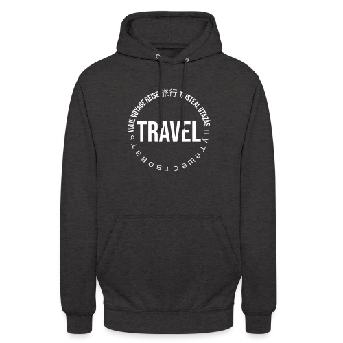 Reisen Weltreise Travelshirt Sprachen - Unisex Hoodie