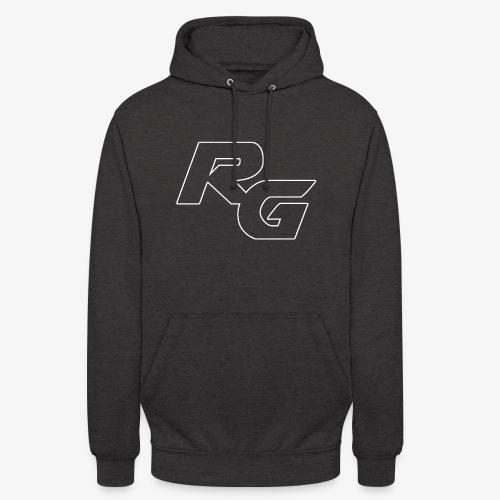 Logo RG Minimal - Felpa con cappuccio unisex