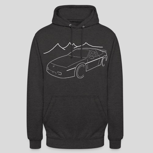 Fiero GT weiss - Unisex Hoodie