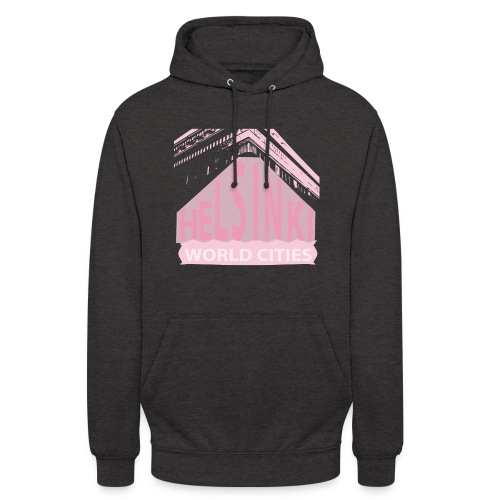 Helsinki light pink - Unisex Hoodie