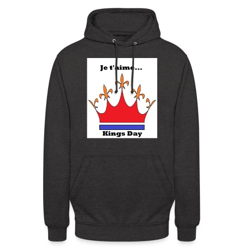 Je taime Kings Day (Je suis...) - Hoodie unisex