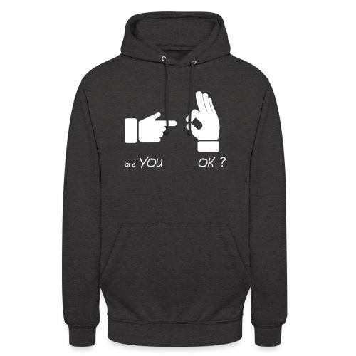 êtes-vous d'accord? (Fun Sex) - Sweat-shirt à capuche unisexe