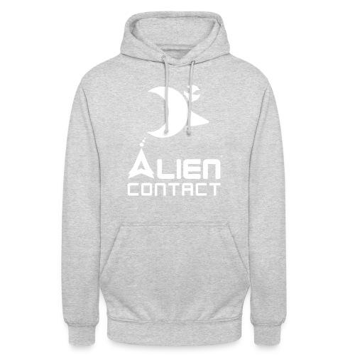 Alien Contact - Felpa con cappuccio unisex