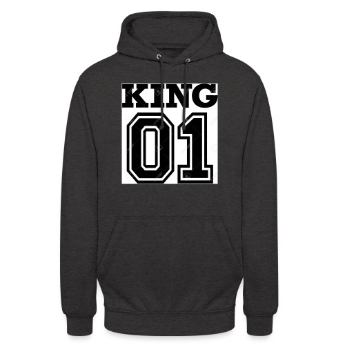 King 01 - Sweat-shirt à capuche unisexe