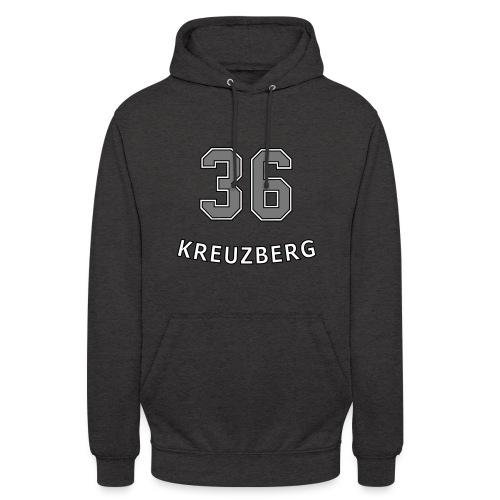 KREUZBERG 36 - Felpa con cappuccio unisex