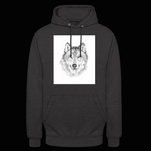 Wolf - Hættetrøje unisex