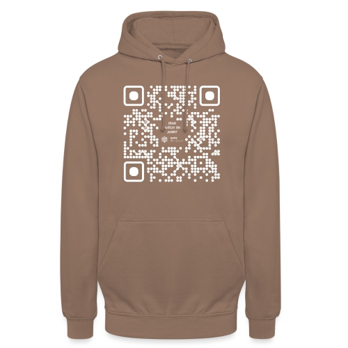 QR The New Internet Should not Be Blockchain Based W - Unisex Hoodie