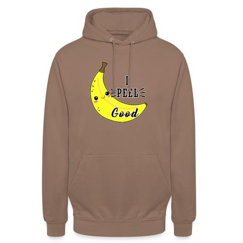 Banana divertente kawaii carina fumetto - Felpa con cappuccio unisex