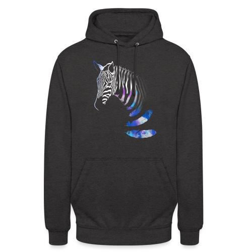 Vibrant Zebra - Unisex Hoodie
