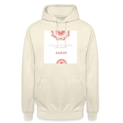 Vie - Sweat-shirt à capuche unisexe