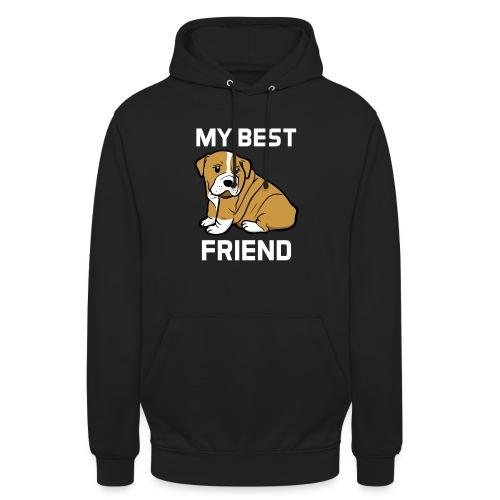 My Best Friend - Hundewelpen Spruch - Unisex Hoodie