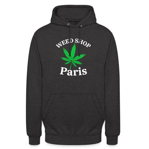 weed shop paris - Sweat-shirt à capuche unisexe