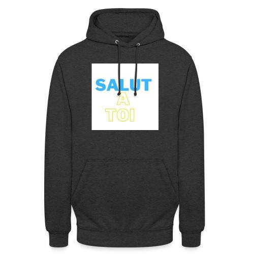 salut 1 - Sweat-shirt à capuche unisexe