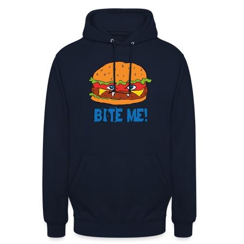 Bite me! - Felpa con cappuccio unisex