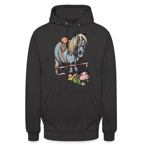 Thelwell Funny Showjumping Gone Wrong - Unisex Hoodie