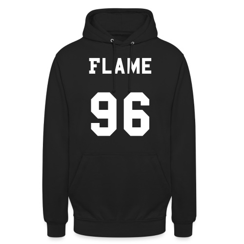 maglietta_flame_96 - Felpa con cappuccio unisex