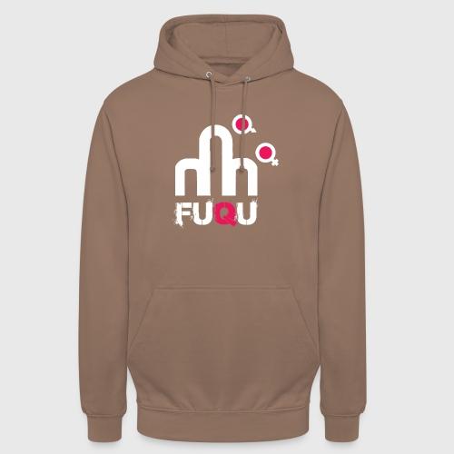 T-shirt FUQU logo colore bianco - Felpa con cappuccio unisex