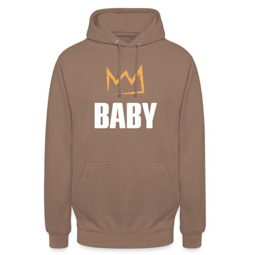 Baby mit Krone - Unisex Hoodie