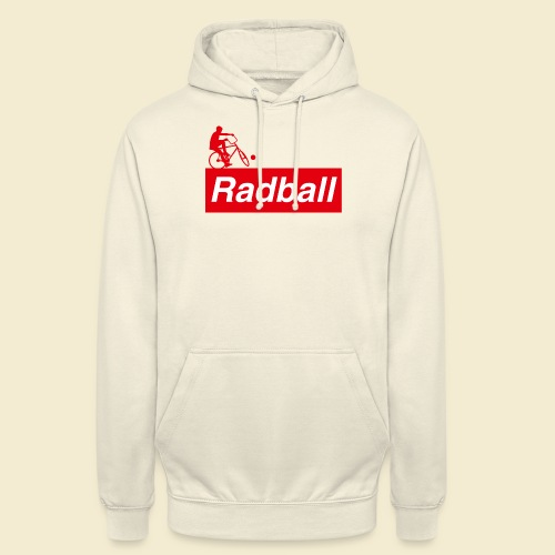 Radball | Red - Unisex Hoodie