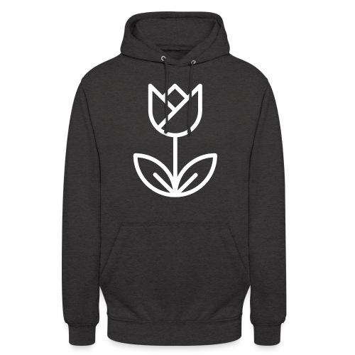 Tulip white png - Unisex Hoodie