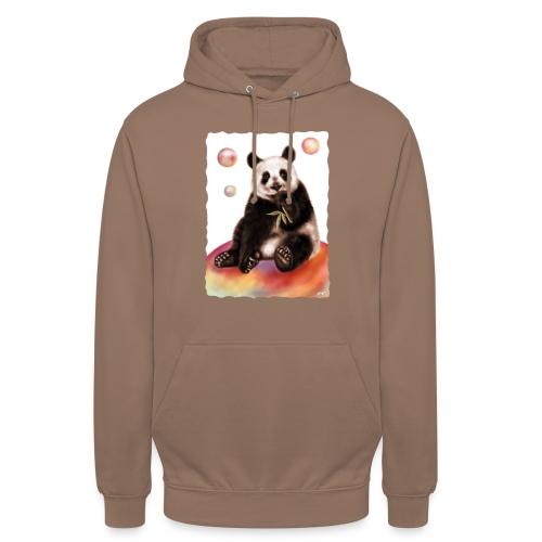Panda World - Felpa con cappuccio unisex