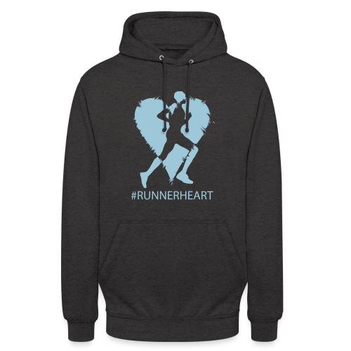 #Runnerheart man - Unisex Hoodie