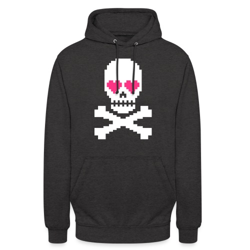 Skull Love - Hoodie unisex