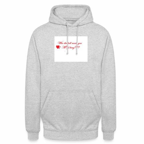 LoveYourselfTheMost - Unisex Hoodie