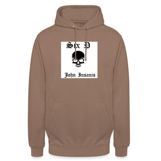 Six P & John Insanis Skull T-Paita
