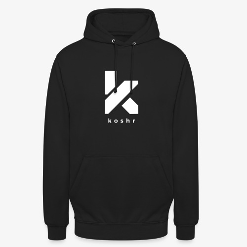 Koshr Official Logo - - Unisex Hoodie