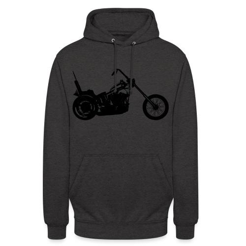 Chopper - sort - Hættetrøje unisex