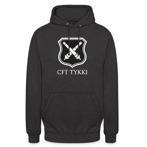 """CFT Tykki valk teksti - Huppari """"unisex"""""""