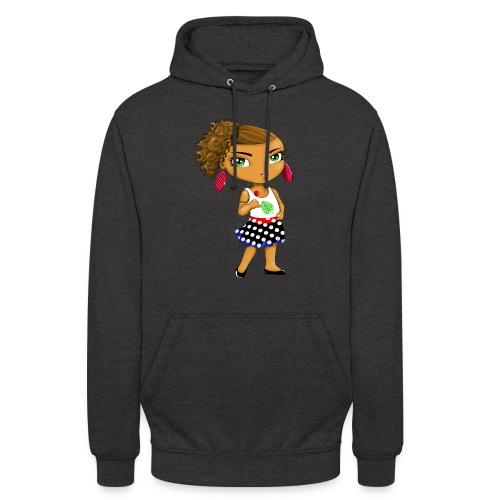 Manga chibi cute - Sweat-shirt à capuche unisexe
