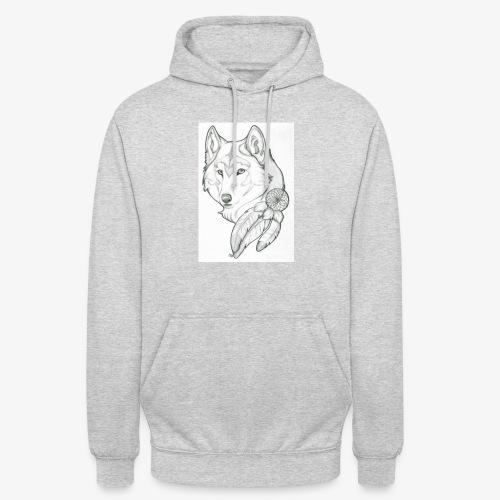 wolf - Hoodie unisex
