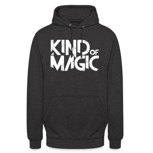KIND of MAGIC white - Unisex Hoodie
