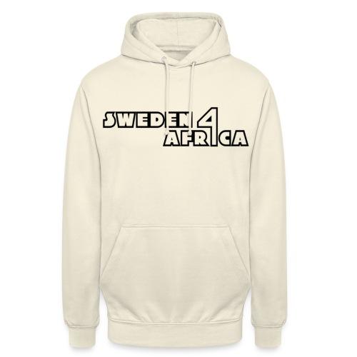 sweden 4 africa text logo v2 - Luvtröja unisex