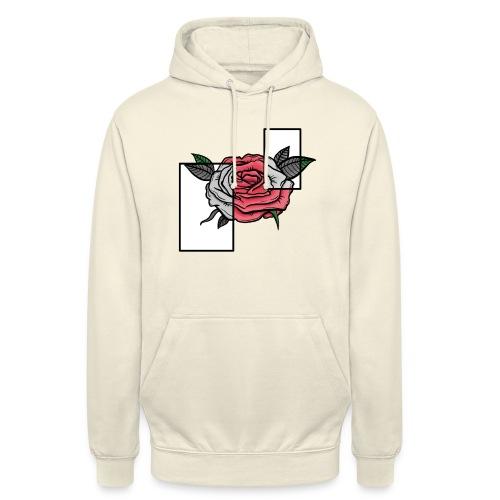 Flower - ROSE/GREY - Unisex Hoodie