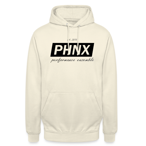 PHNX /#black/ - Unisex Hoodie